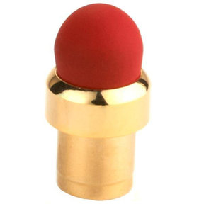 Gold Threaded Stylus Tip Red