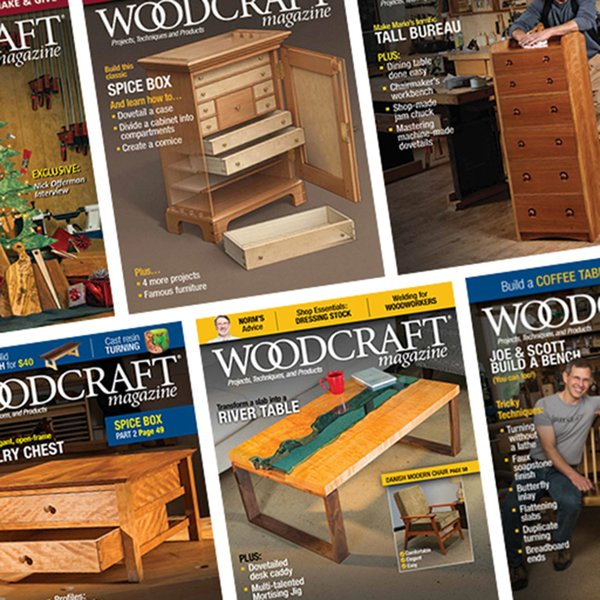 Woodcraft Magazine 2 Year Print Subscription
