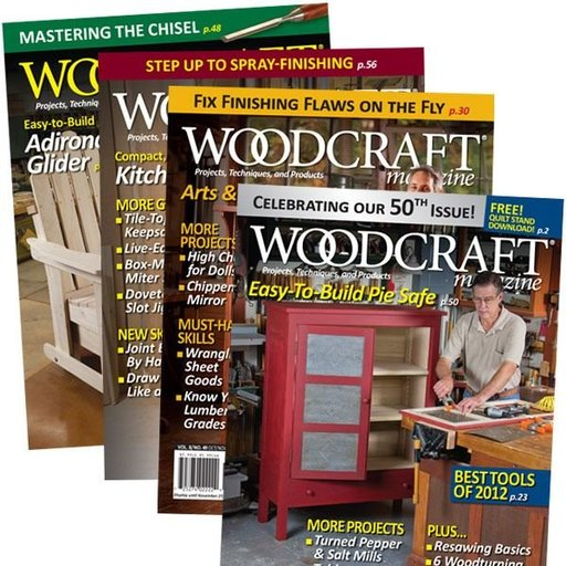 View a Larger Image of Woodcraft Magazine 2 Year Subscription