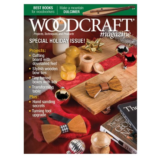 View a Larger Image of Woodcraft Magazine Issue 80 December / January 2018