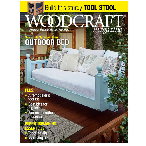 View a Larger Image of Woodcraft Magazine Issue 82 April / May 2018