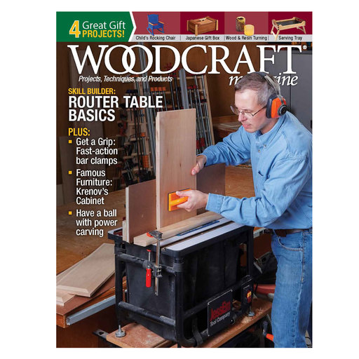 View a Larger Image of Woodcraft Magazine Issue 86 December / January 2019