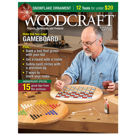 View a Larger Image of Woodcraft Magazine Issue 92 December / January 2020