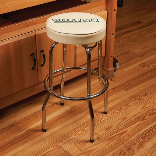View a Larger Image of Woodcraft Shop Stool