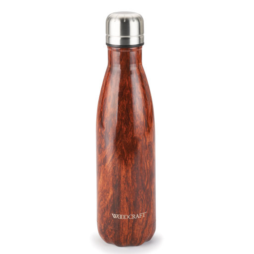 View a Larger Image of Woodcraft Woodgrain 17-ounce Water Bottle