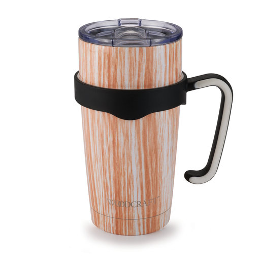 View a Larger Image of Woodcraft Woodgrain 20-ounce Tumbler