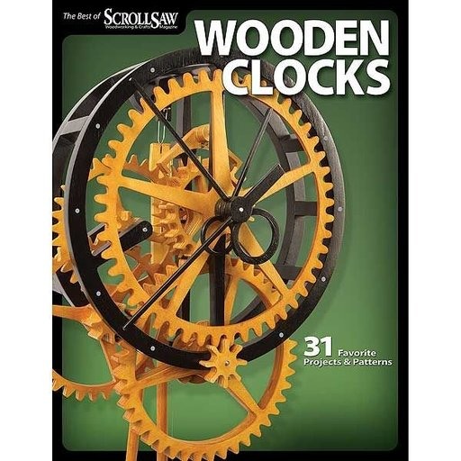 View a Larger Image of Wooden Clocks: 31 Favorite Projects & Patterns (Best of SSW&C)