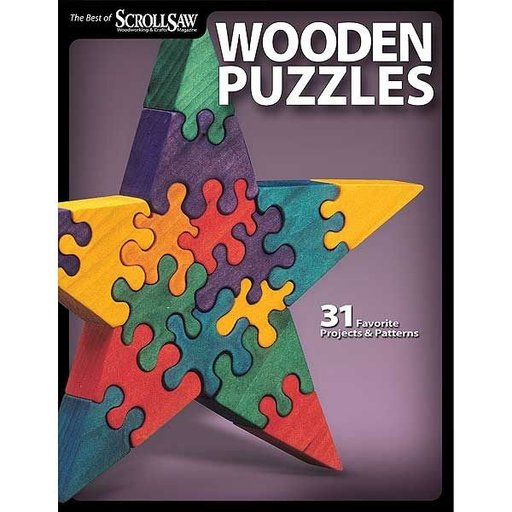 View a Larger Image of Wooden Puzzles: 31 Favorite Projects and Patterns (Best of SSW&C)