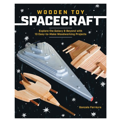 View a Larger Image of Wooden  Toy Spacecraft