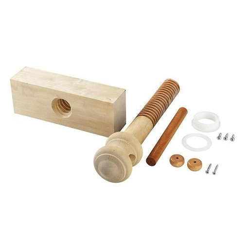View a Larger Image of Wooden Vise Screw Kit