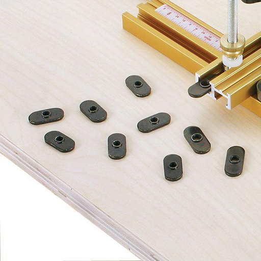 View a Larger Image of #10-32 Oval Nut, 10 pack