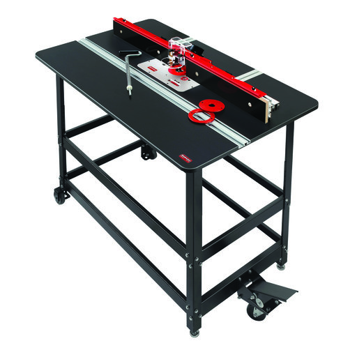 View a Larger Image of 27x43 Premium Router Table Package With V2 420 Router Lift, WPK# PRP-4-V2420