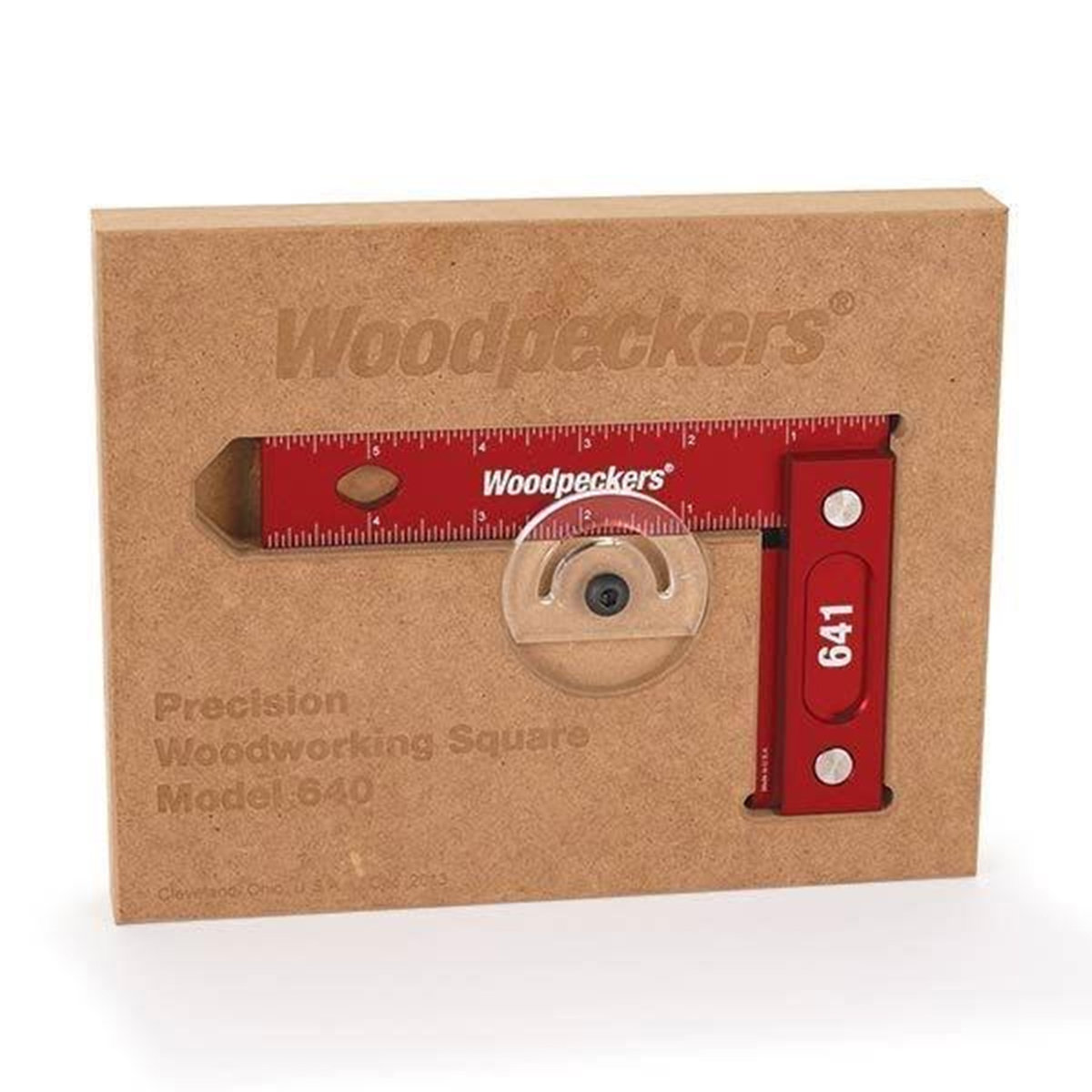 641 Precision Woodworking Square 6 X 4 With Wall Mountable Storage Squarer View A Larger Image Of