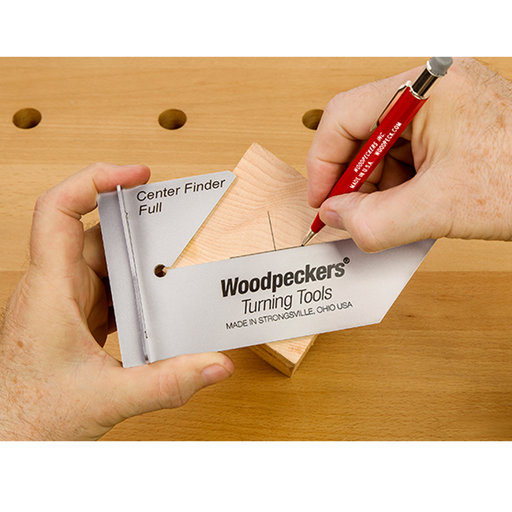 View a Larger Image of Woodpeckers Center Finder Full