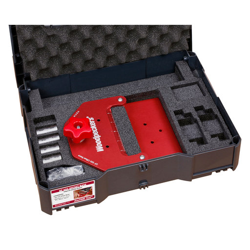 View a Larger Image of Woodpeckers One-Time Tool DF 500 Offset Base Plate - Inch