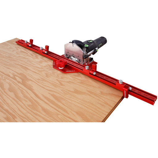 View a Larger Image of Woodpeckers One-Time Tool DF 500 Offset Base Plate System - Inch