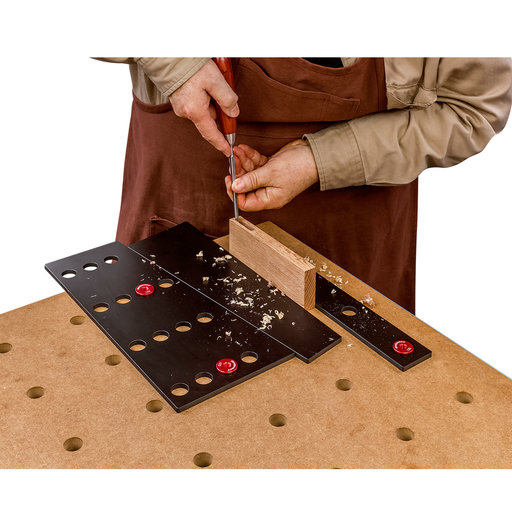 View a Larger Image of Woodpeckers OneTIME Tool 2096 Workholding Kit in Systainer