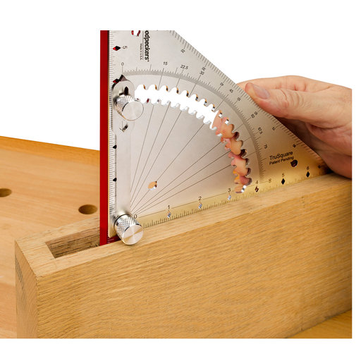View a Larger Image of Woodpeckers OneTIME Tool TruSquare - Inch