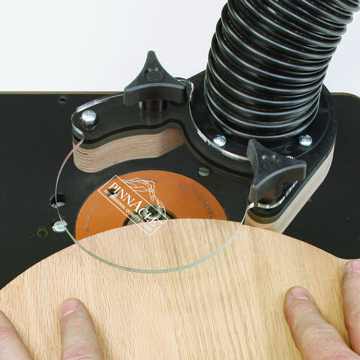 View a Larger Image of Router Table Free Hand Bit Guard