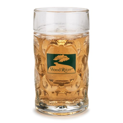 View a Larger Image of WoodRiver 1-Liter Glass Beer Mug