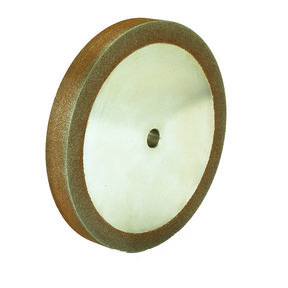 "120g 8"" x 1"" CBN Grinding Wheel with 5/8"" Arbor"