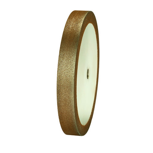 "View a Larger Image of 120g 8"" x 1"" CBN Grinding Wheel with 5/8"" Arbor"