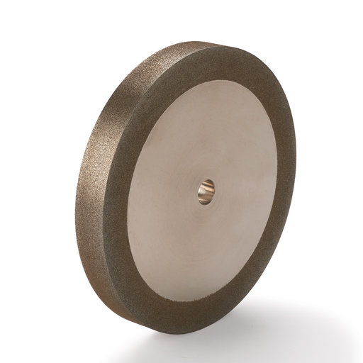 "View a Larger Image of WoodRiver 180-Grit CBN Grinding Wheel, 6""x 3/4"" for Grinders with a 1/2"" Arbor"