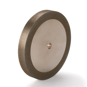 "180-Grit CBN Grinding Wheel, 6""x 3/4"" for Grinders with a 1/2"" Arbor"