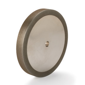 "180-Grit CBN Grinding Wheel, 8""x 1"" for Grinders with a 5/8"" Arbor"