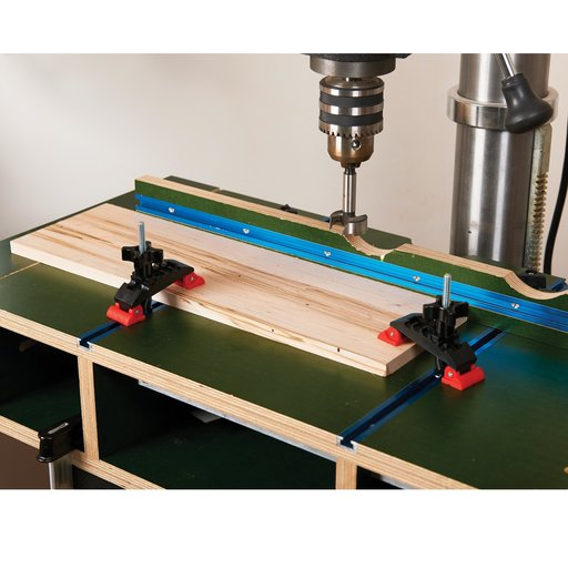 View a Larger Image of 2-Piece Deluxe T-Track Clamp Set
