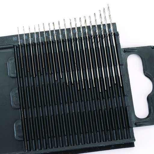 View a Larger Image of 20pc Wire Gauge Size Drill Set