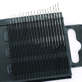 20pc Wire Gauge Size Drill Set