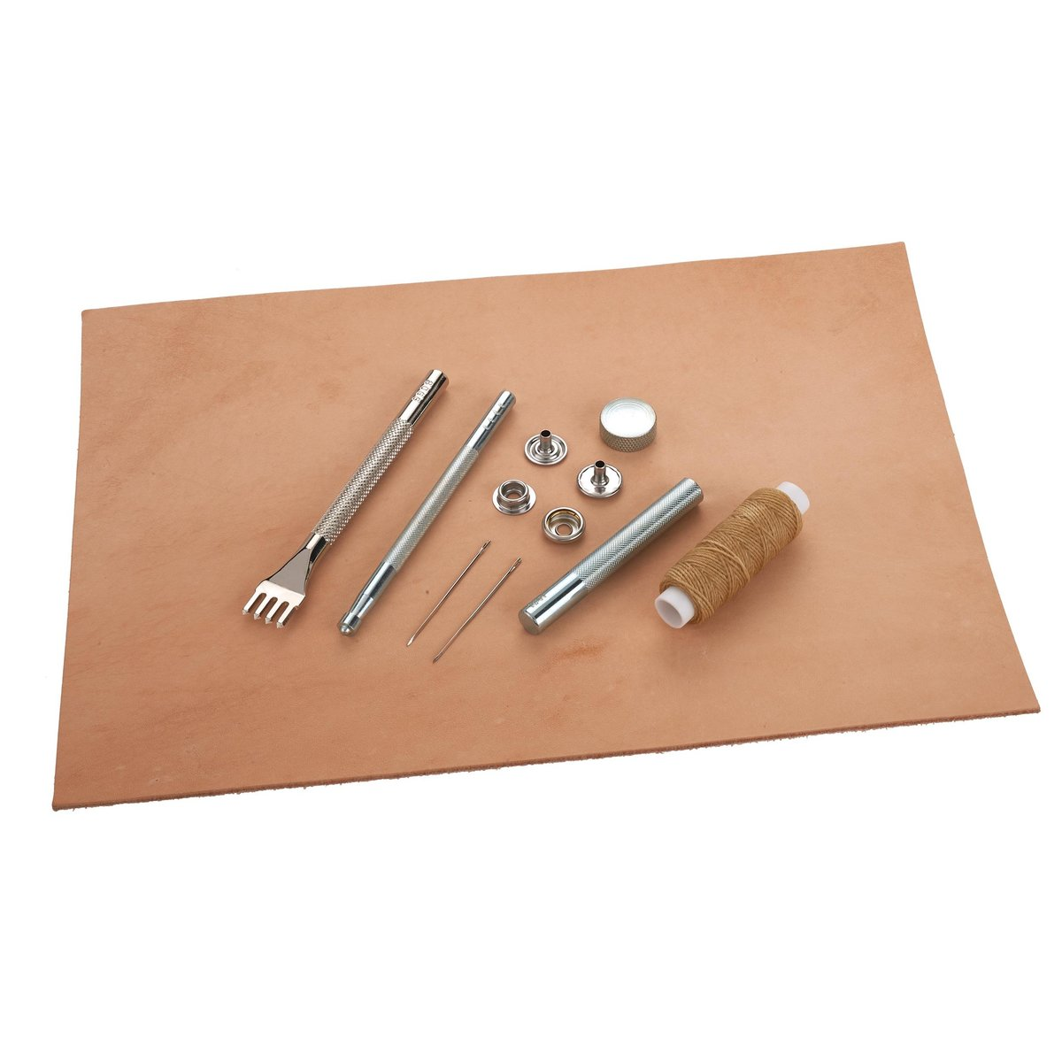 20619c32ba0c0 View a Larger Image of WoodRiver Beginner Leather Working Kit