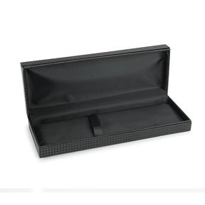Black Carbon Fiber Texture Pen/Pencil Case