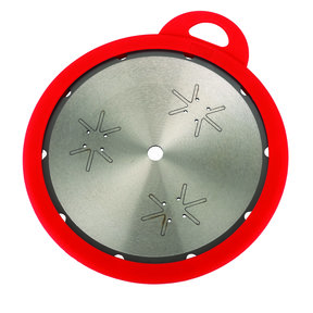 "Blade Keep 10"" Silicone Saw Blade Cover, Red"