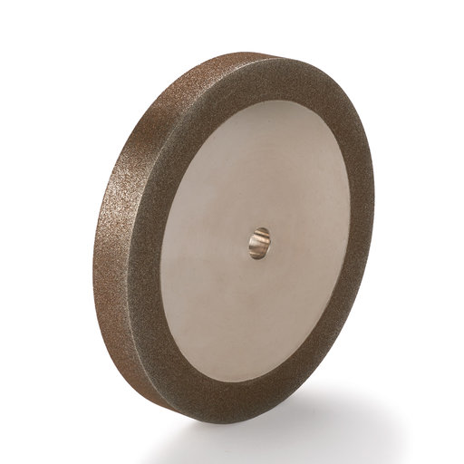"View a Larger Image of WoodRiver 120-Grit CBN Grinding Wheel, 6""x 3/4"" for Grinders with a 1/2"" Arbor"