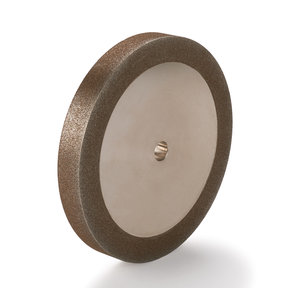 "120-Grit CBN Grinding Wheel, 6""x 3/4"" for Grinders with a 1/2"" Arbor"