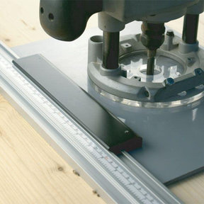 Clamp Guide Universal Base for Routers and Circular Saws