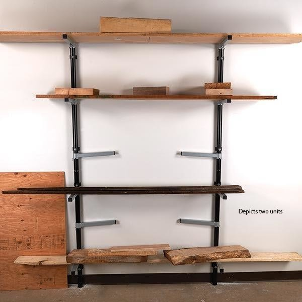 hero debuts held shelf flexible design dezeen wooden is furniture together moebe a wedges by that system creates shelving