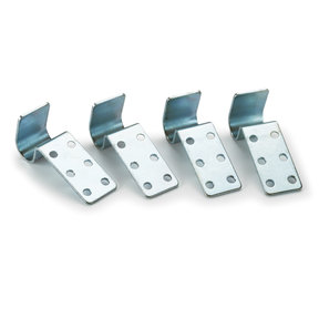 Mobile Clamp and Storage Rack Replacement Shelf Clips 4-piece