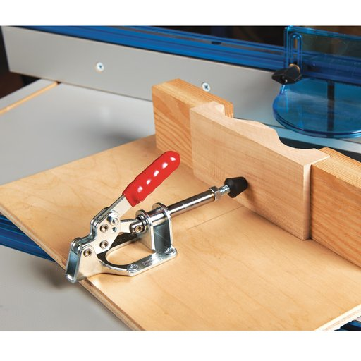 "View a Larger Image of Straight Line Toggle Clamp, 2"" x 1"", 300 lb. Capacity"