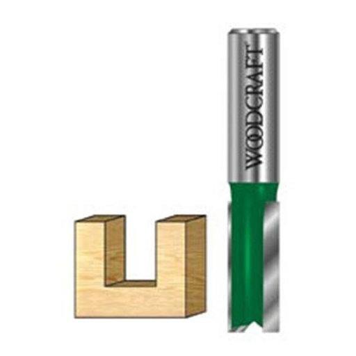 "View a Larger Image of Straight Router Bit 1/4""SH 23/32""D 1"" CL"