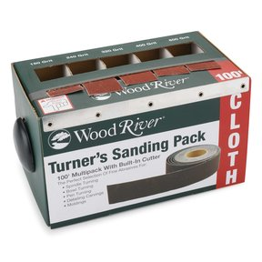 "1"" x 20' Turner's Sanding pk Sanding Roll Assortment with Dispenser"