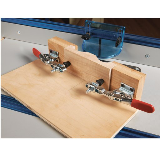"View a Larger Image of Vertical Handle Toggle Clamp, 2-3/4"" x 1/8"", 500 lb. Capacity"