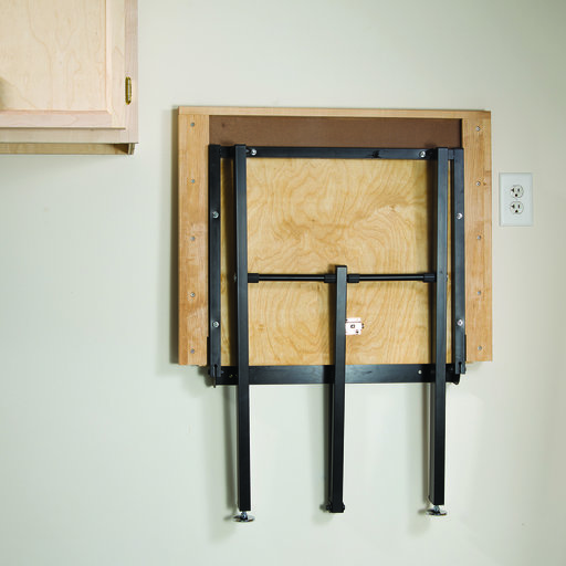 View a Larger Image of Wall Mount Folding Tool Stand Hardware