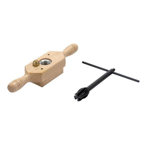 """View a Larger Image of Woodthreading Kit, 1/2"""" x 8 TPI"""