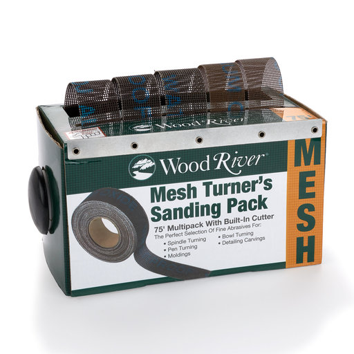 "View a Larger Image of 1"" x 15' Turner's Sanding pk Sand Paper Assortment with Dispenser"