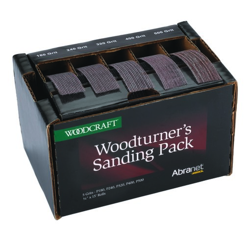 View a Larger Image of Woodturner's Sanding Pack featuring Abranet by Mirka