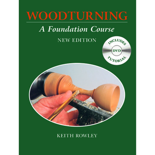 View a Larger Image of Woodturning a Foundation Course w/DVD