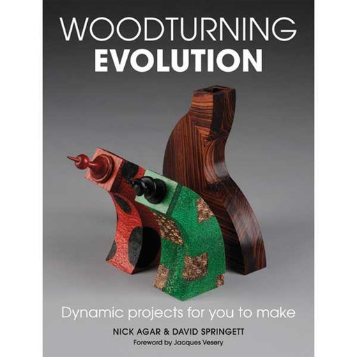 View a Larger Image of Woodturning Evolution